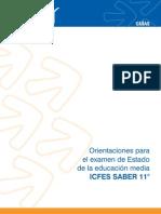 Guia - Orientaciones para el examen de la educacion media Icfes Saber 11.pdf