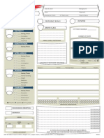 Dungeons & Dragons 5th edition fan character sheet