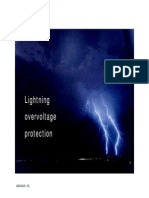 Lightning Overvoltage Protection