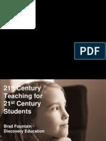 21st Century Teaching for 21st Century Students Black