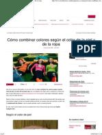 Cómo combinar colores según el color de la piel y de la ropa.pdf