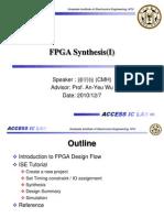 20101207 FPGA Synthesis(I)