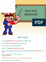 Role Play Dialogue