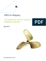 Shipping-Accounting for Owned Vessels by Shipping Companies