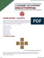 8 Runecasting Layouts