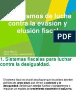 Mecanismos para luchar contra evasion y elusion fiscal