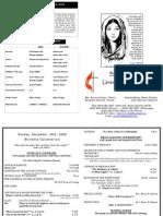 12 20 2009 Web Bulletin