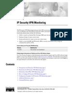 IP Security VPN Monitoring
