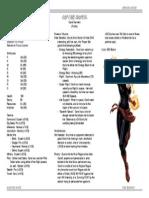 Sample Hero - Captain Marvel