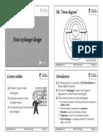 Lecture 4 - Heat Exchanger Design