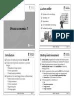 Lecture 11 - Process Economics I