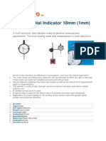 Mitutoyo Dial Indicators
