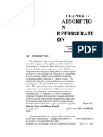 Absorption Refrigeration goe