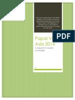 Papal Visit Asia 2014