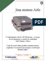 Centralina Motore Aifo