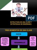 Estructura de una clase - Estrategias de enseñanza.ppsx