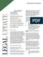 2014 09 01 DN Update (Proposals to Enhance Regulatory Safeguards