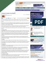 5 Steps to Analyze Any Market