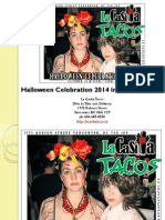 Halloween Celebration 2014 in West End Vancouver British Columbia
