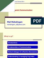 July2014 deck communication