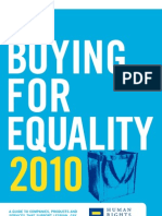 Buying for Equality