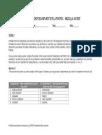 PDP Transferable Skills Audit