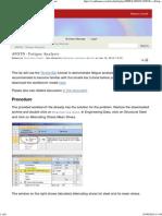 ANSYS - Fatigue Analysis - Simulation -Confluence
