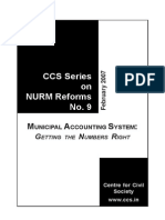 Municipal Accounting System