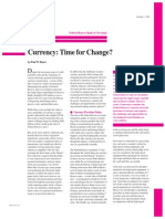 Currency Time to Change