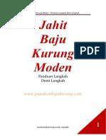 Part 1 eBook Kurung Moden Melukis Pola Badan Dan Lengan(1)