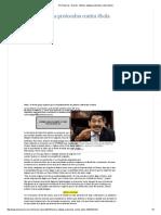 El Universal - Nación - México adopta protocolos contra ébola.pdf