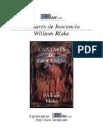Blake, William - Cantares de inocencia.pdf