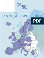 ECBS Annual Report 2001