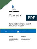 Tem Pancasila Dalam Kajian Sejarah Perjuangan Bangsa Indonesia II (1)