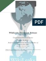 WikiLeaks Document Release Http://Wikileaks.org/Wiki/CRS-RL30016