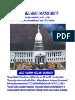 Vinayaka Missions University-prospectus