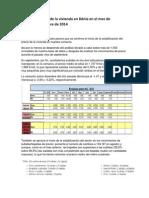 El precio de la vivienda en Dénia en el mes de septiembre de 2014