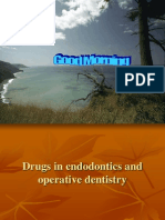Drugs in Endodontics and Operative Dentistry