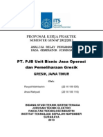 Proposal KP PT. PJB Gresik