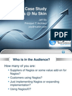 Jeff Sly - Case Study Nagios @ Nu Skin