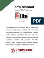 Transcend Elite Users Manual WIN En