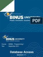M08640010120114036M0864POK-p11 Database Access