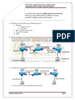 Lab 6. -Dynamic Routing Protocol