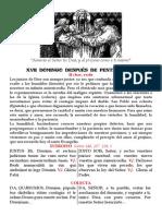 XVII domingo después de Pentecostés. Pdf bilingüe