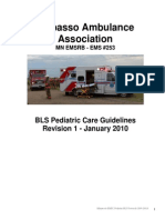 BLS Pediatric Patient Care Guidelines