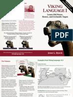 Viking Language Old Norse Brochure Byock-libre