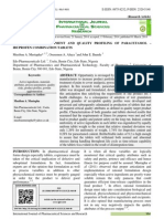 Formulation Development and Quality Profiling of Paracetamol – Ibuprofen Combination Tablets
