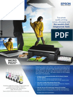 Epson L800 Brochure