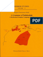 (Berber Studies Vol. 31) Regula Christiansen-Bolli, Harry Stroomer-A Grammar of Tadaksahak_ a Berberised Songhay Language (Mali)-Rüdiger Köppe (2010)