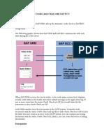 CRM Credit Limit Check Integration With SAP ECC